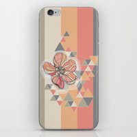 The flower that drinking coffee iPhone & iPod Skin