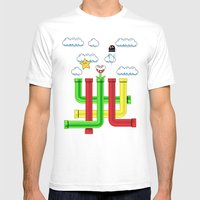 Pipe Dreams Mens Fitted Tee White SMALL