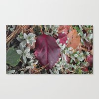 Canvas Print featuring Red by Ioana Stef
