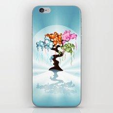 The Four Seasons Bubble Tree iPhone & iPod Skin
