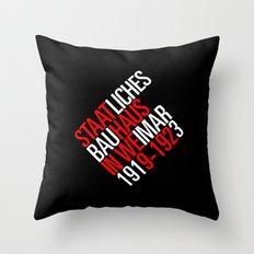 Staatliches Bauhaus Throw Pillow