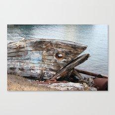 Fish Boat Canvas Print