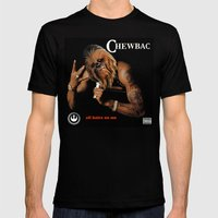 Chewbac - All Hairz On M… Mens Fitted Tee Black SMALL