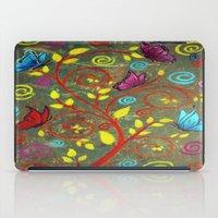 Butterflies-5 iPad Case