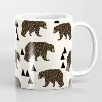 Geo Bear By Andrea Laure… Mug