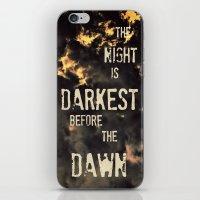 Darkest Night iPhone & iPod Skin
