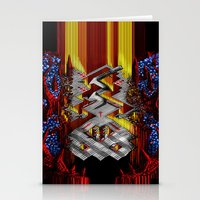 Marble Madness: Where Good Marbles Go To Die Stationery Cards
