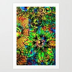Mama Eye Art Print