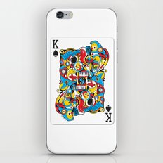 King Of Spades iPhone & iPod Skin