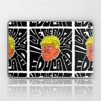 Trump loves the Poorly Educated Laptop & iPad Skin