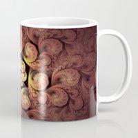 Little Pink Swirls Mug