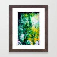 Chartreuse Framed Art Print