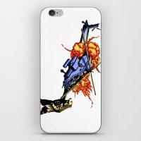 Bear Vs. Apache iPhone & iPod Skin