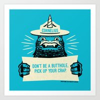 Ranger Cornelius Says... Art Print
