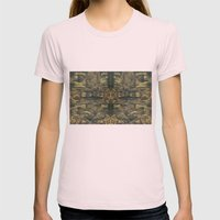 Stalagmites Version 2 Womens Fitted Tee Light Pink SMALL
