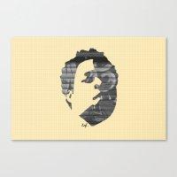 Dynamik Face Canvas Print