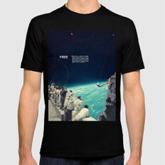 Free SMALL Mens Fitted Tee Black
