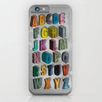 alphabet city iPhone 6 Slim Case