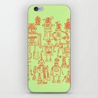 Robots! iPhone & iPod Skin