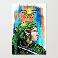 Link From The Legend Of … Canvas Print