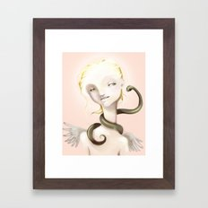 Good and Evil Framed Art Print