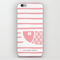 PIXE 2 (light pink) iPhone & iPod Skin