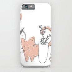 Fatty cat iPhone 6 Slim Case