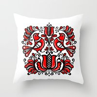 Korond Throw Pillow
