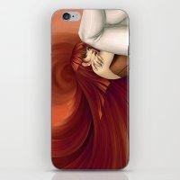 Time Antigrav - Red iPhone & iPod Skin