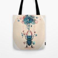 funny beetle Tote Bag