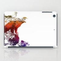 the watchers 3 color version iPad Case