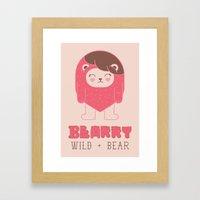 BEARRY Framed Art Print