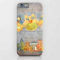 iPhone & iPod Case featuring Owls by Moonlighting
