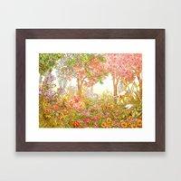 Heaven Garden Framed Art Print