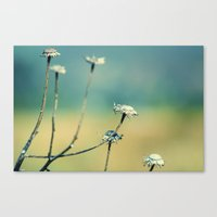 Straight For This Life Canvas Print