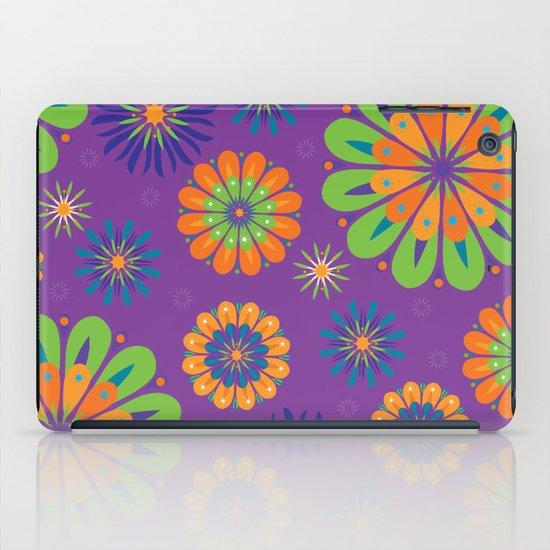 Psychoflower Purple iPad Case