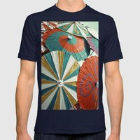 Twirl Mens Fitted Tee Navy SMALL