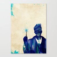 Doctor Who 10th Doctor D… Canvas Print