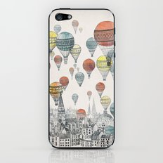 Voyages over Edinburgh iPhone & iPod Skin