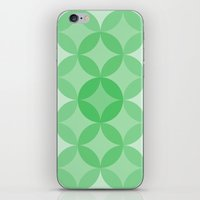 Geometric Abstraction III iPhone & iPod Skin
