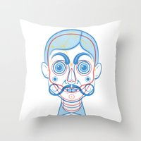 A Rare Boy Throw Pillow