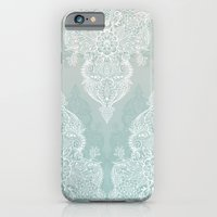 Lace & Shadows - Soft Sa… iPhone 6 Slim Case