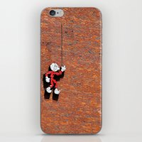 Reddy or Not iPhone & iPod Skin