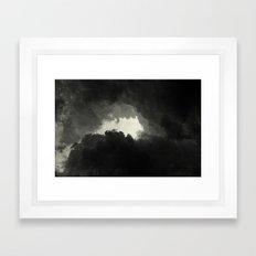 Hole In The Sky II Framed Art Print