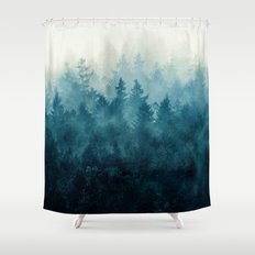 The Heart Of My Heart // So Far From Home Edit Shower Curtain