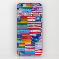 Flags For The Future Mash Up iPhone & iPod Skin