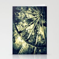 tailing wheels I Stationery Cards