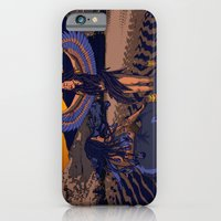 iPhone & iPod Case featuring Medusa of Music meets Lilith by Laura Brightwood