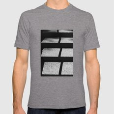 Split  Mens Fitted Tee Tri-Grey SMALL