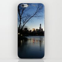 Dusk In The City iPhone & iPod Skin